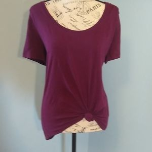 Victoria secret lg open back t shirt.